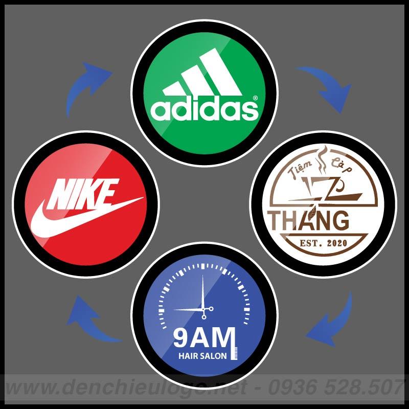 Đèn 4 logo